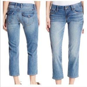 Lucky Brand Jean Sweet Jean Crop 10 30 Flap Pocket